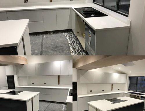 Corian Kitchen Worktop Installation